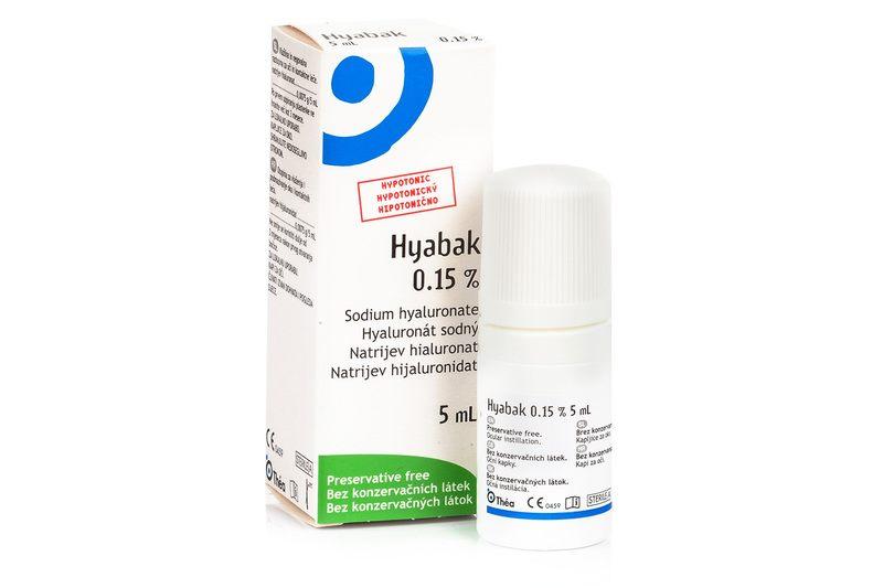 Hyabak 0.15% gtt.oph. 5 ml