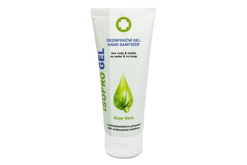 Isoprogel Aloe Vera 75 ml - dezinfekční gel na ruce