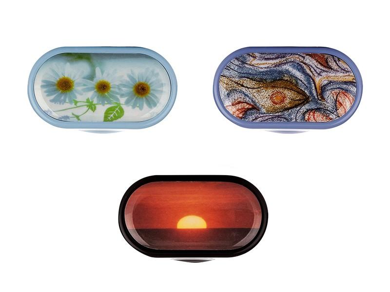 Kozmetické puzdro so zrkadielkom s rôznymi motívmi. Puzdrá na kontaktné  šošovky ... 035efda4696