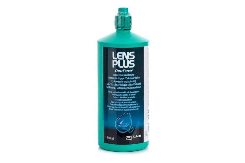 Lens Plus OcuPure 360 ml – soluție salină fiziologică de la AMO