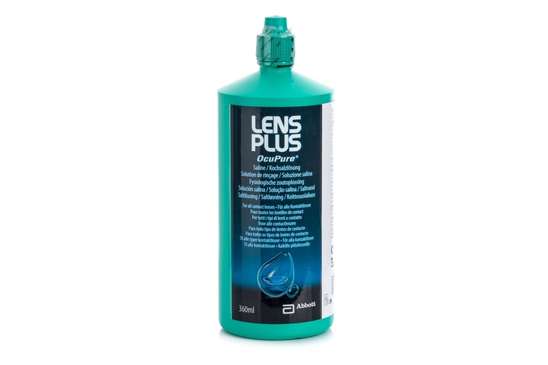 Image of Lens Plus OcuPure 360 ml - fysiologisk saltopløsning