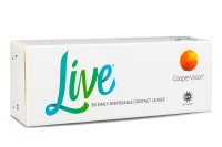 CooperVision Live daily disposable (30 φακοί) Ημερήσιοι Μυωπ...