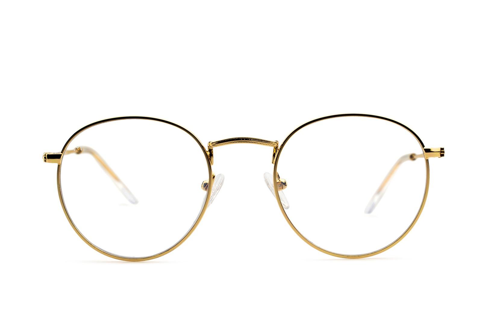 Meller Yster Gold blue light computerbril