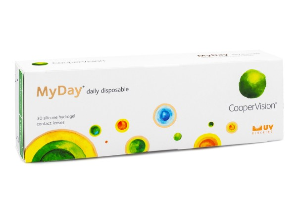 MyDay daily disposable CooperVision (30 lentile)