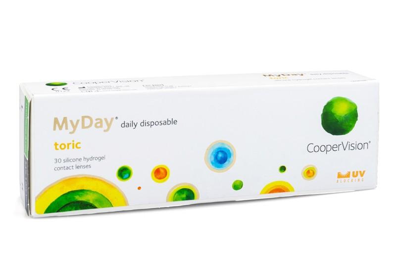 MyDay daily disposable Toric (30 čoček) Ostatní kontaktní čočky Jednodenní čočky torické pro sport