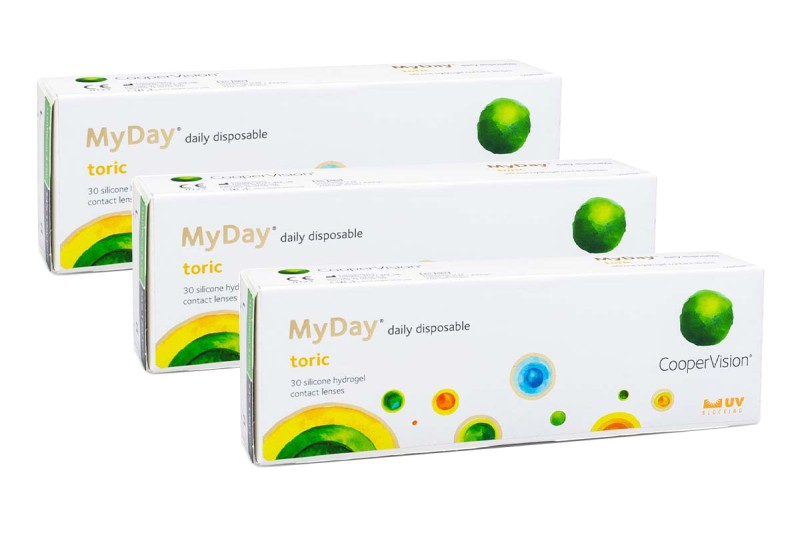 MyDay daily disposable Toric, 90er Pack