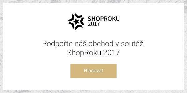 Podpořím Vašečočky v anketě ShopRoku 2017