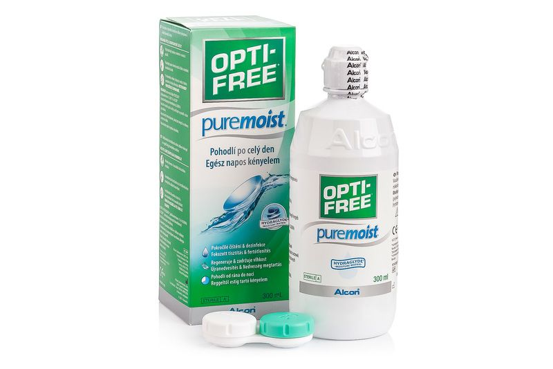 OPTI-FREE PureMoist 300 ml cu suport de la Alcon