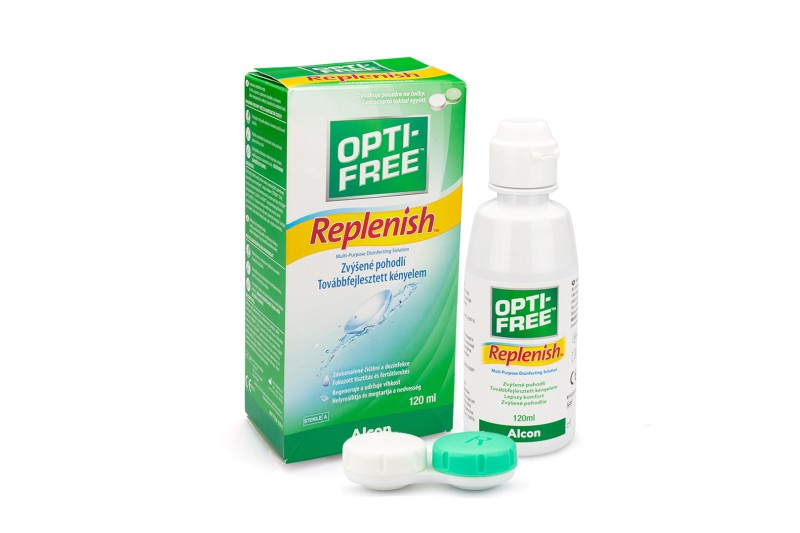OPTI-FREE RepleniSH 120 ml cu suport de la Alcon