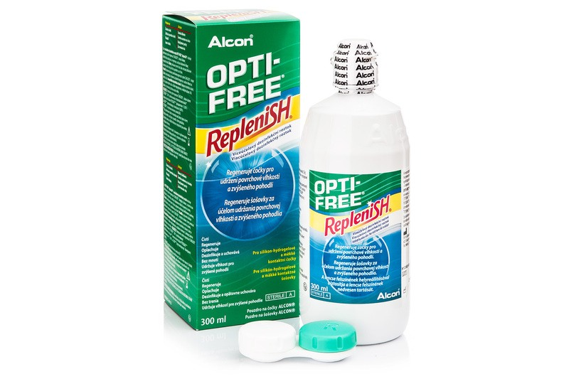 OPTI-FREE RepleniSH 300 ml cu suport de la Alcon