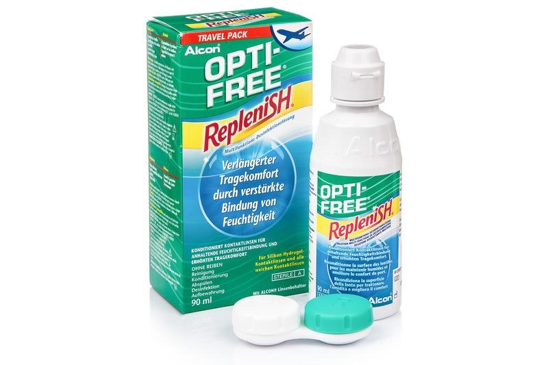 Opti-Free RepleniSH 90 ml s pouzdrem Opti-Free
