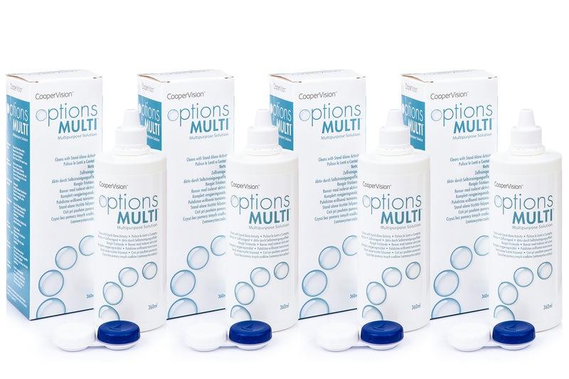 Image of   Options Multi 4 x 360 ml med etui