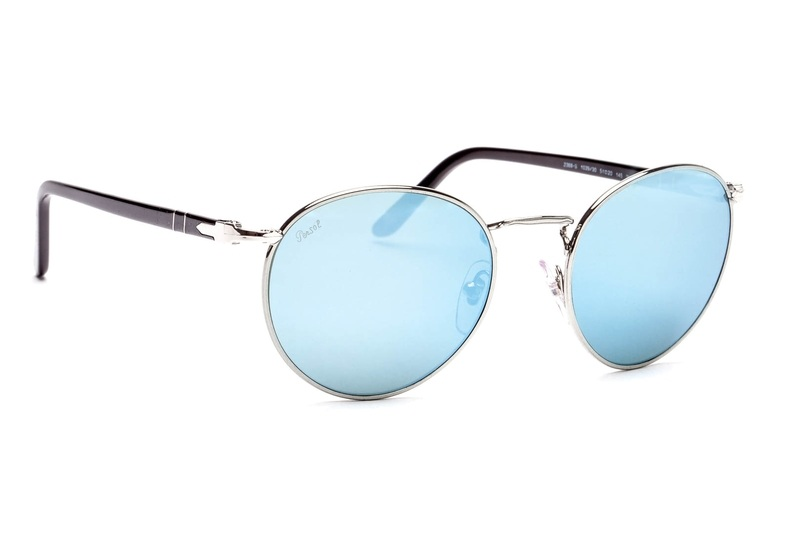 PERSOL Persol Herren Sonnenbrille » PO2388S«, grau, 103930 - grau/silber