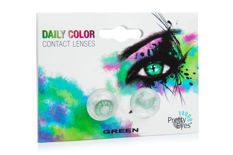 Pretty Eyes Young jednodenní (2 čočky) - dioptrické Ostatní kontaktní čočky Jednodenní čočky barevné