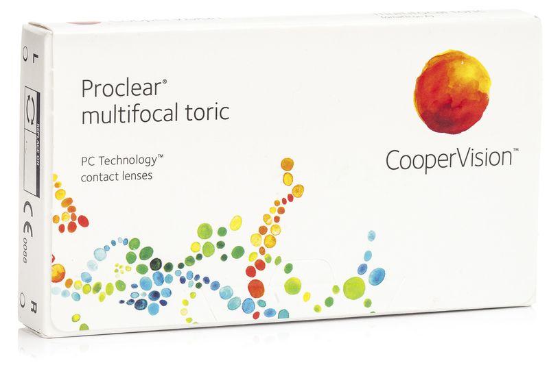 Proclear Multifocal Toric (3 čočky) Proclear Měsíční čočky torické multifokální