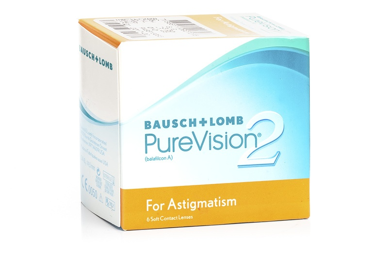 PureVision 2 for Astigmatism (6 čoček) PureVision Kontinuální čočky torické silikon-hydrogelové