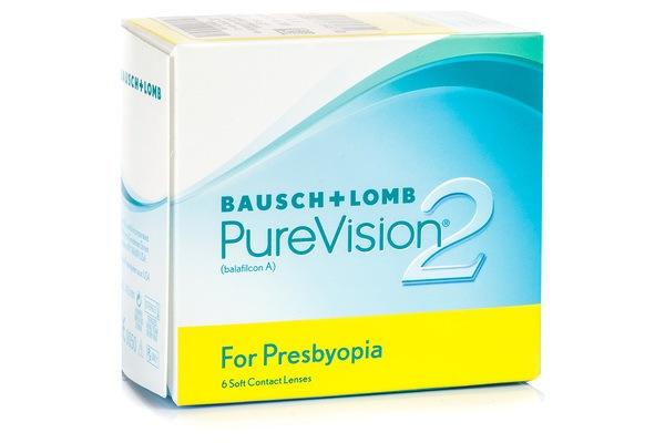 PureVision 2 pentru Prezbitism (6 lentile)