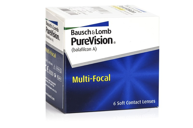 PureVision Multi-Focal (6 čoček) PureVision Kontinuální čočky silikon-hydrogelové multifokální