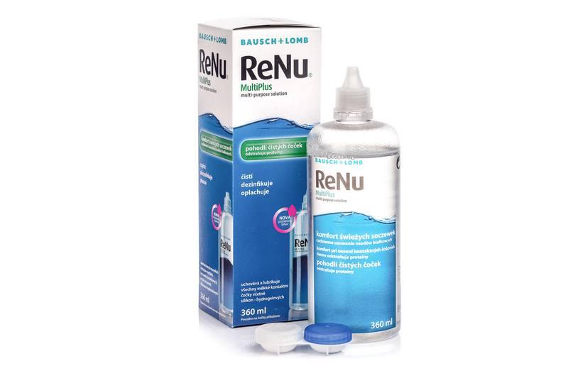 ReNu MultiPlus ® Multi-Purpose 360 ml cu suport lentile de la Bausch  Lomb