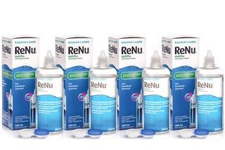 ReNu MultiPlus 4 × 360 ml con portalenti