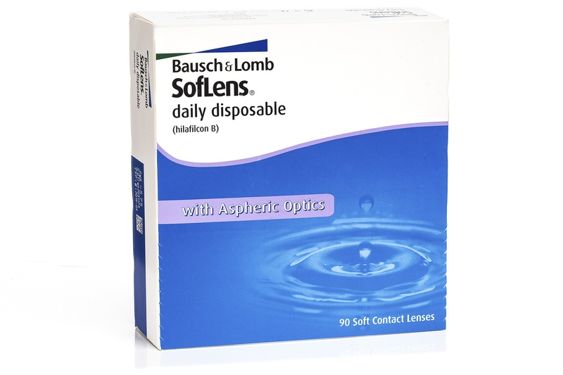 SofLens Daily Disposable (90 lentile) de la Bausch  Lomb