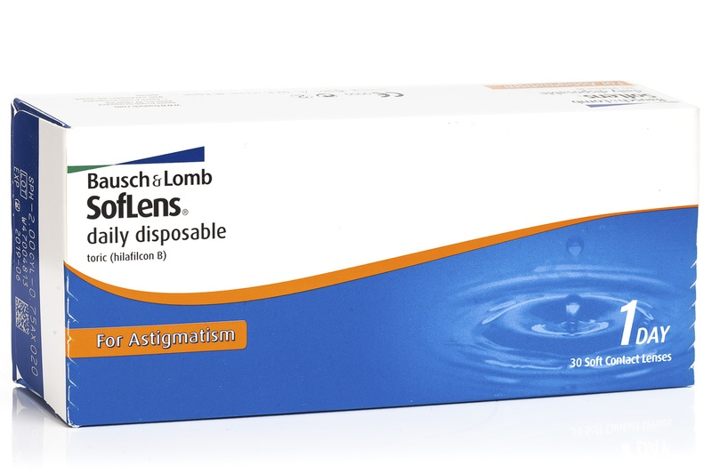 Image of   SofLens Daily Disposable for Astigmatism (30 linser)