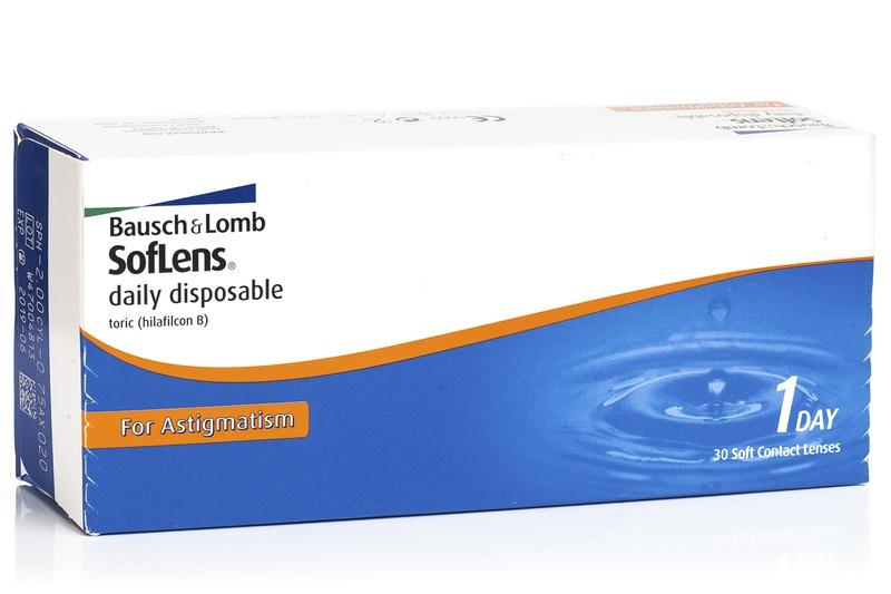 SofLens Daily Disposable pentru Astigmatism (30 lentile) de la Bausch  Lomb