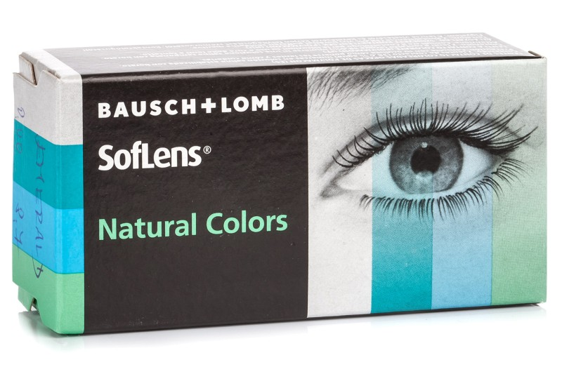 Image of   SofLens Natural Colors (2 linser) - uden styrke