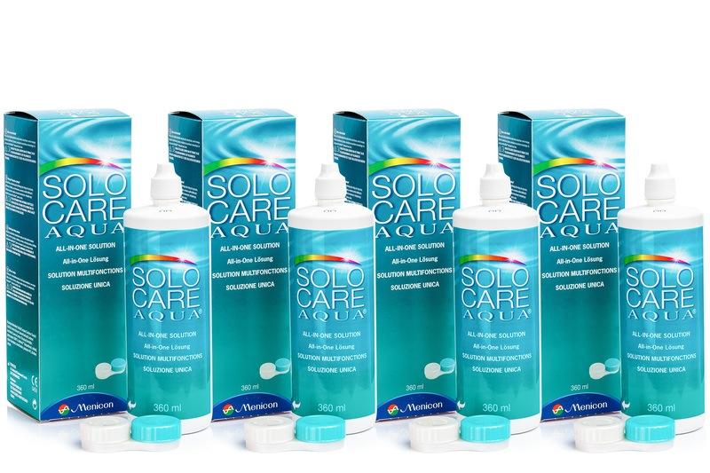 Image of   SOLOCARE AQUA 4 x 360 ml med etuier