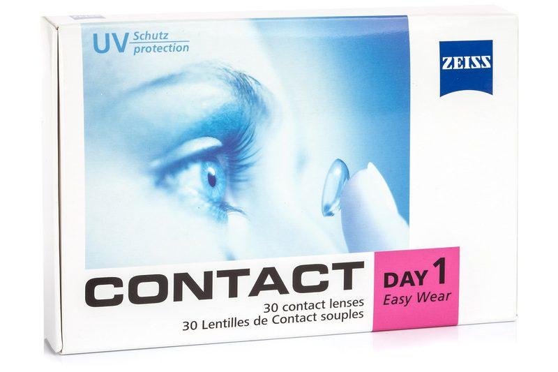 Zeiss Contact Day 1 Easy Wear (30 lentilles). Les lentilles de contact  Journalières ... 55f138c75c10