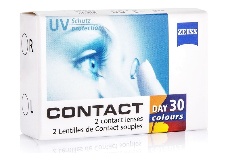 Zeiss Contact Day 30 colours (2 linser) - uden styrke