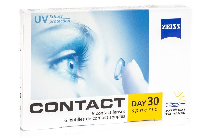Image of   Zeiss Contact Day 30 Spheric (6 linser)
