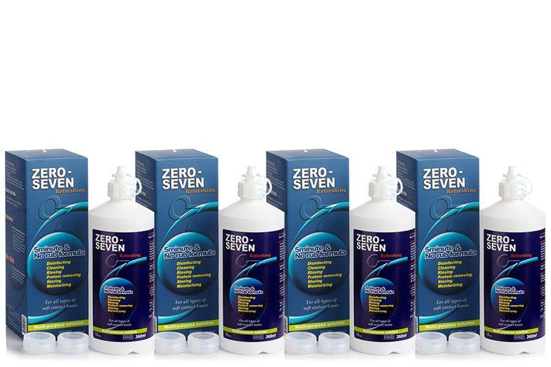 Zero-Seven Refreshing 4 x 360 ml cu suporturi de la Polytouch Chemical Co